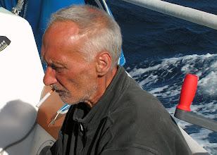Photo: Владислав Николаевич скептически наблюдает за поисками планктона/ Vladislav is sceptical about plankton search