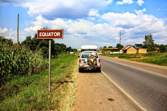 Photo: Zikos crosses the equator