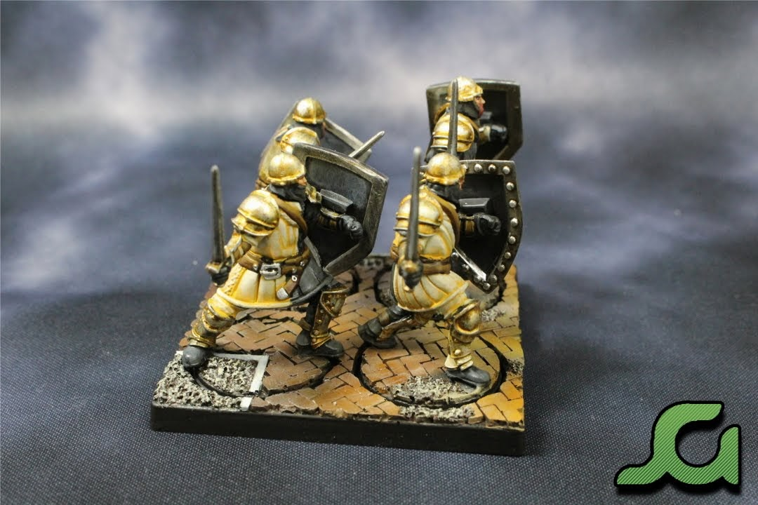 Men-at-arms stand 1 Side