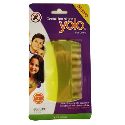 accesorio yolo peine plastico para piojos