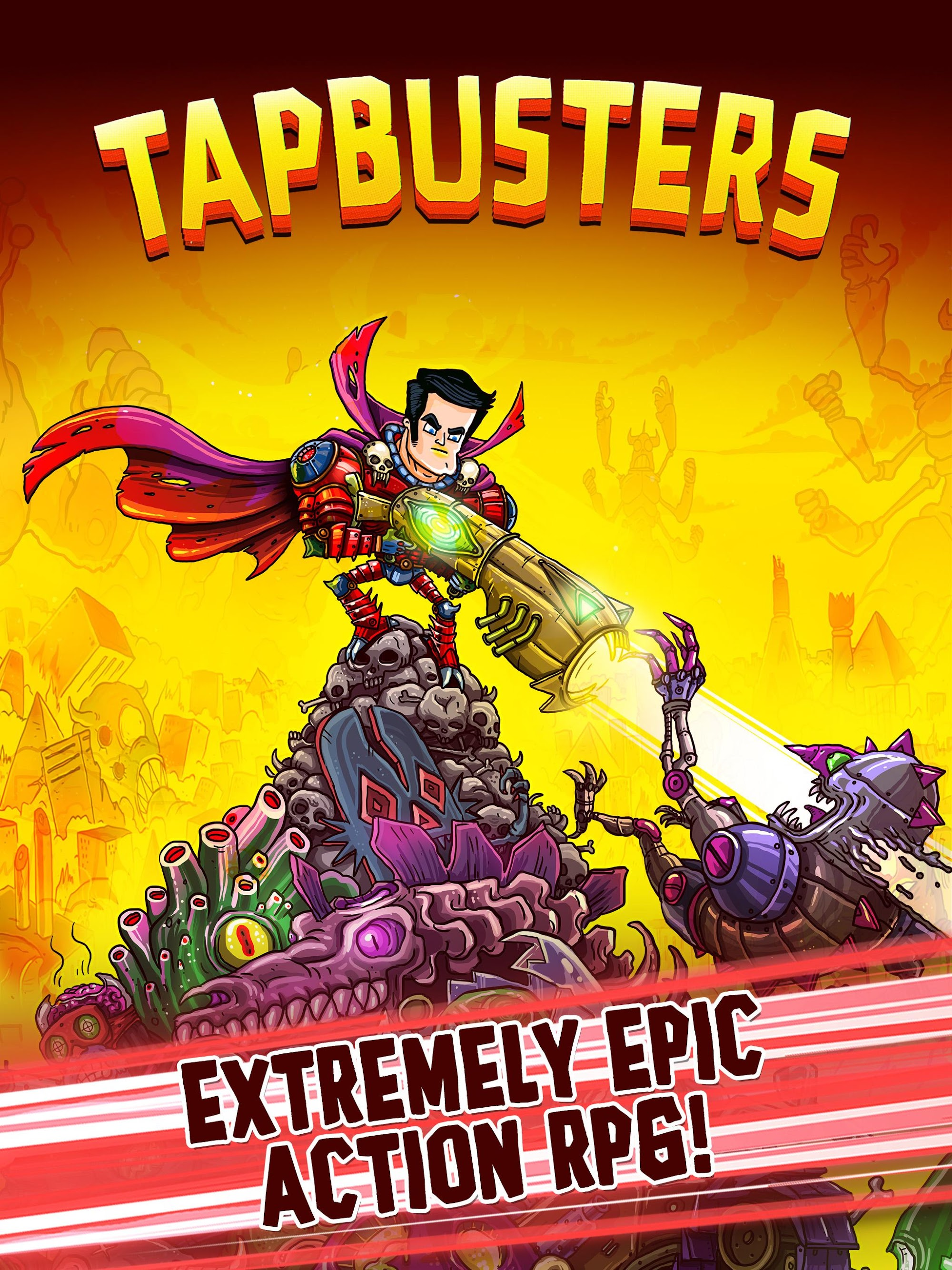 Tap Busters: Galaxy Heroes screenshot #12