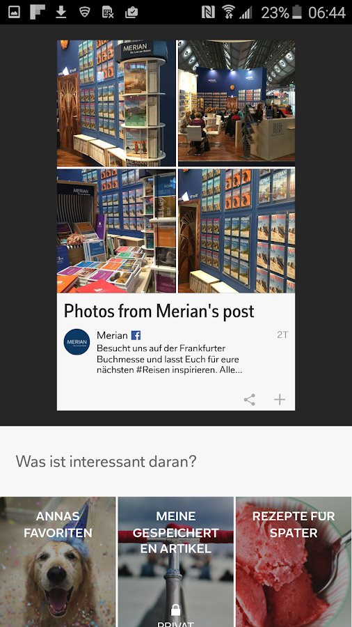 Flipboard – Screenshot