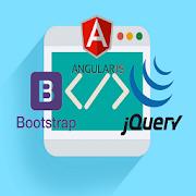 HTML EDITOR,AngularJ,Bootstrap
