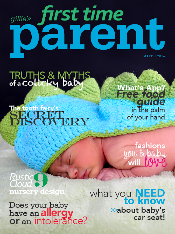 First Time Parent Magazine- screenshot