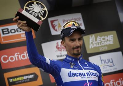 Julian Alaphilippe viert rentree in de Dauphiné, ook twee Quick.Step-Belgen mee