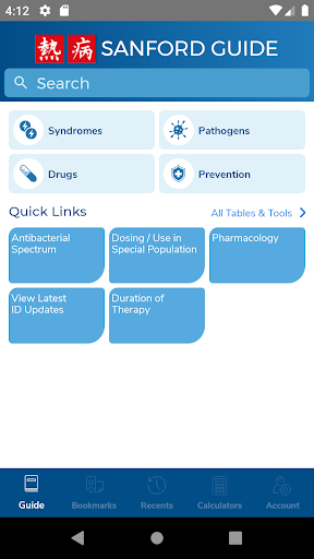Sanford Guide:Antimicrobial Rx Apk 1