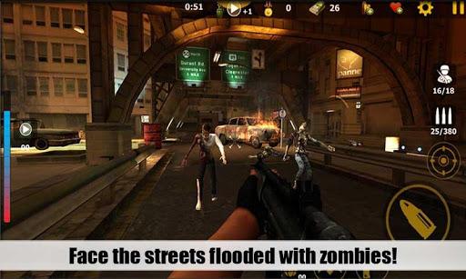 Attaque de Zombies 3D  captures d'écran 2