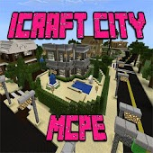 iCraft City map for MCPE