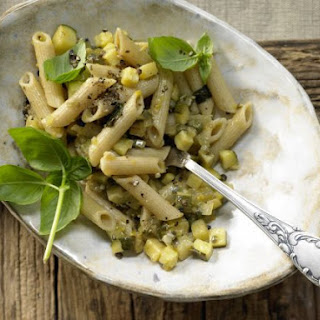 Penne with Zucchini and Capers