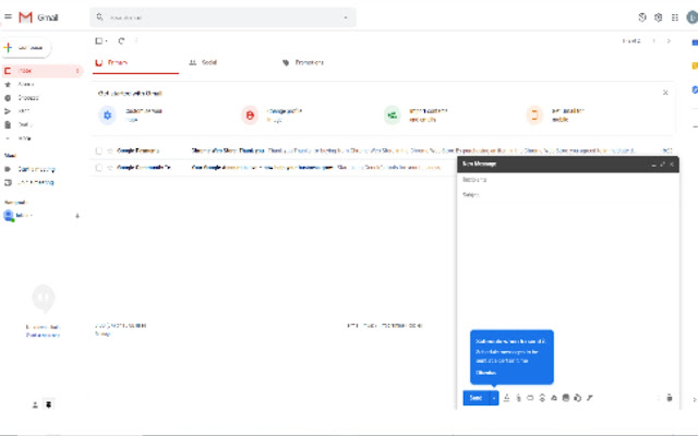 Gmail composer