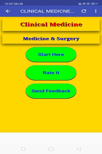 Clinical Medicine & Surgery screenshot 2