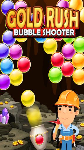 Gold Rush Bubble Shooter