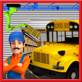 Tải Game nhà trường xây dựng xe buýt nhà máy