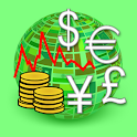 Currency Exchange Rates - Gold icon
