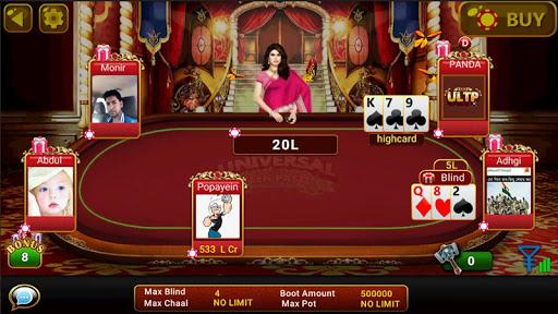Universal Teen Patti - Indian Poker Game screenshots 5