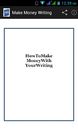 Make Money Writing