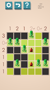 Tents and Trees Puzzles 1