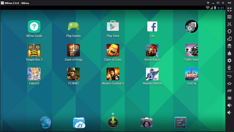 MEmu andriod emulator