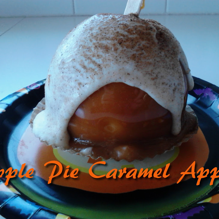 Apple Pie Caramel Apples