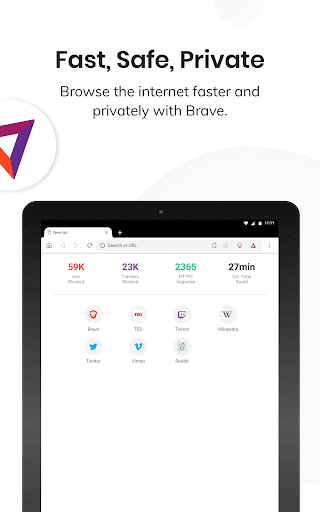 Brave Private Browser: Fast, safe web browser 1.12.113 Screenshots 6