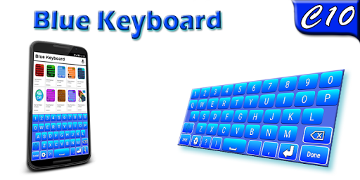 Blue Keyboard for PC