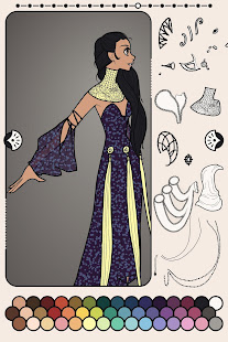 Erte Elegance Dress Up