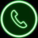 Neon Caller Screen + Dialer icon