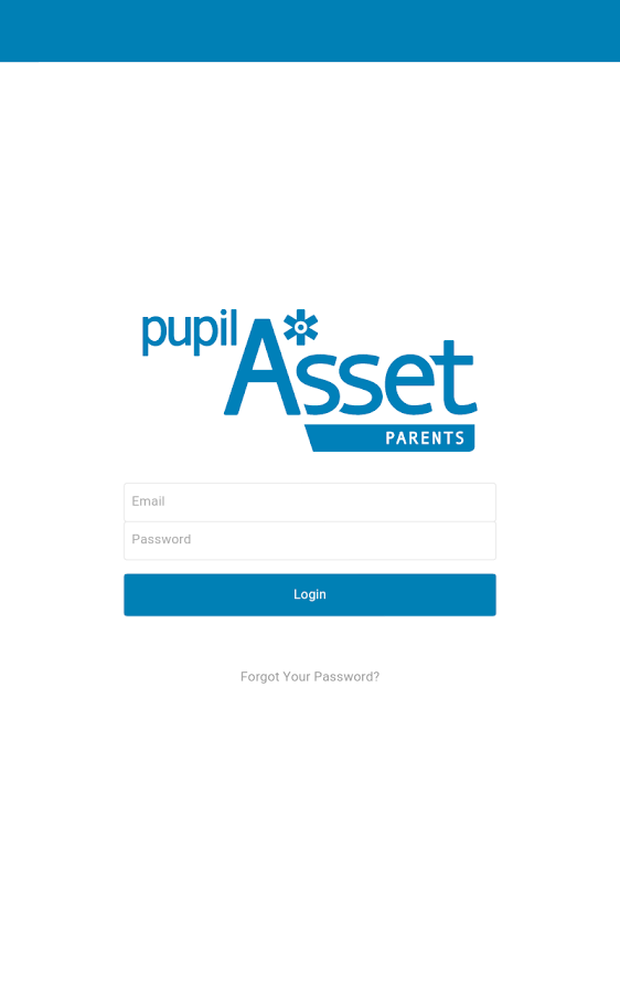 PupilAsset Parents- screenshot