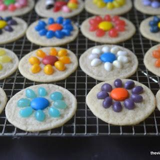 Easy Jelly Bean Flower Cookies