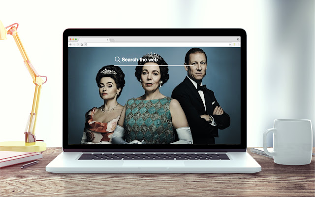 The Crown New Tab Series Theme
