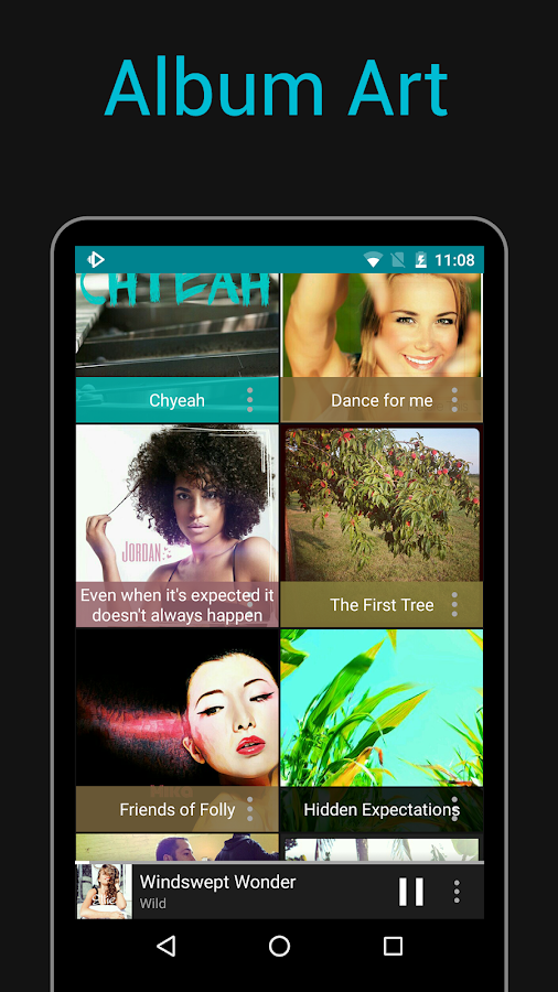 Rocket Player : Music Player- screenshot