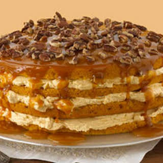 Luscious Four-Layer Pumpkin Cake.