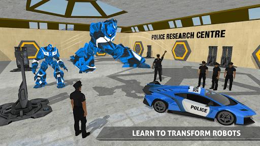 US Police Robot Car Game u2013 Police Plane Transport 1.02 screenshots 6