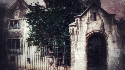 Casa abandonada del barrio republica en la actualidad