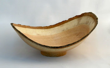 "Photo: TIM ALEY - Natural - Edge Bowl - 10"" x 5"" - Pin Oak"