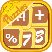 Math Puzzles - Algebra Game, Mathematic Arithmetic