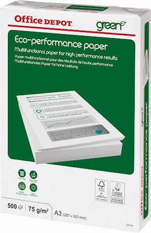 Papper OD Eco A3 75g 500/pkt