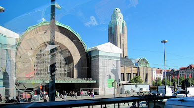 Photo: MAIN RAILWAY STATION   http://en.wikipedia.org/wiki/Helsinki_Central_railway_station