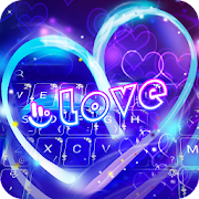 App Neon Heart Keyboard Theme APK for Windows Phone