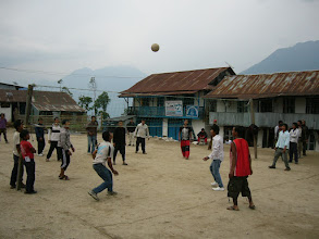 Photo: Num Village square