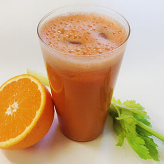 Turmeric Sweet Potato Orange Juice