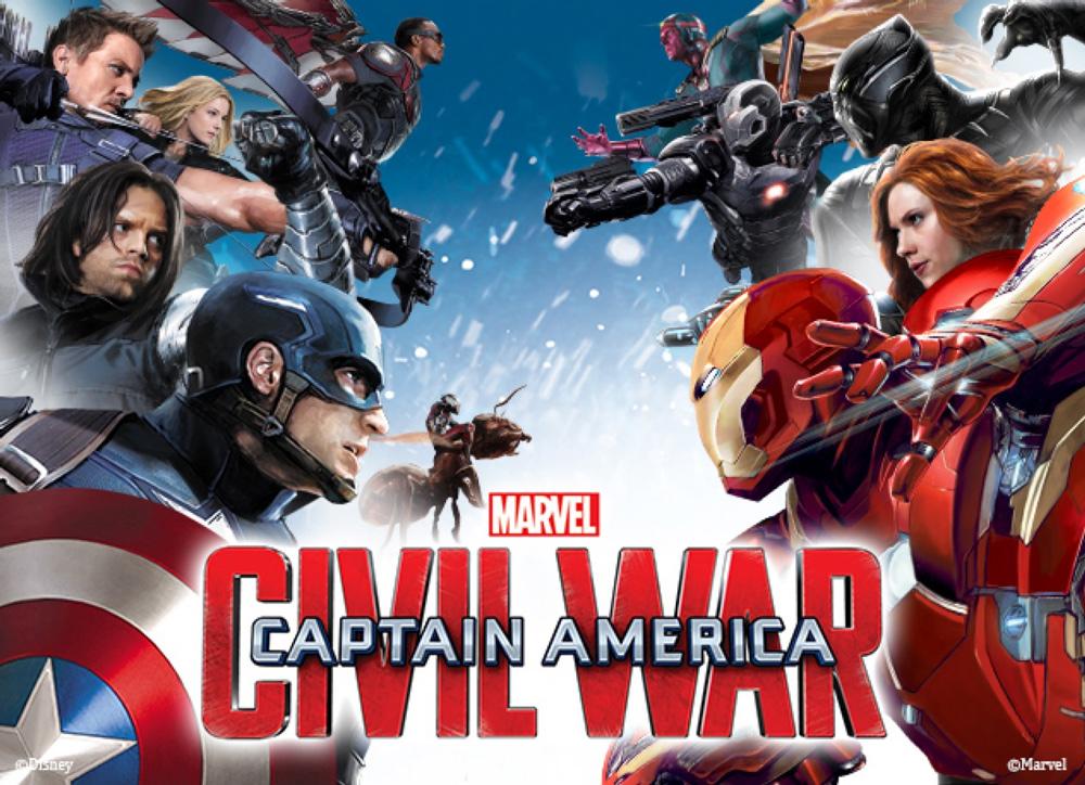 Captain America: Civil War - post