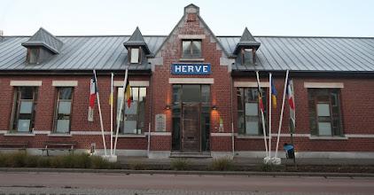 Photo: Ancienne gare de Herve devenue Maison du Tourisme du Plateau de Herve
