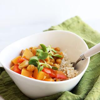 Vegan Pumpkin Chickpea Curry