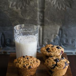 Oil-free Multigrain Chocolate Chip Muffins.