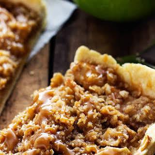 Caramel Apple Slab Pie.