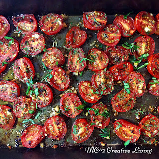 Roasted Cherry Tomatoes with Garlic