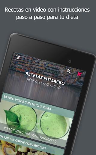 Contador de Calorías Fitmacro screenshot 13