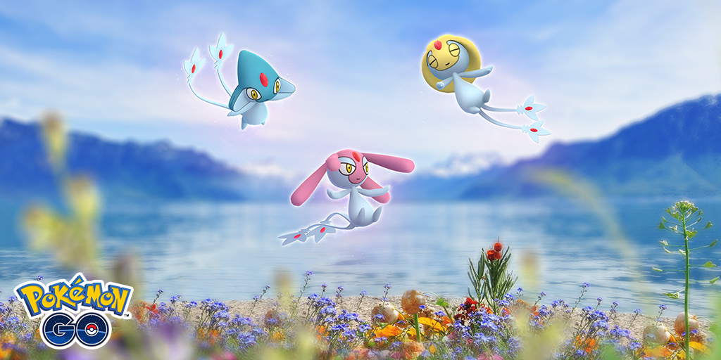 Uxie, Mesprit, and Azelf return to raids for a limited time!