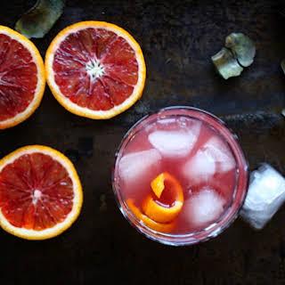Blood Orange Cocktail.